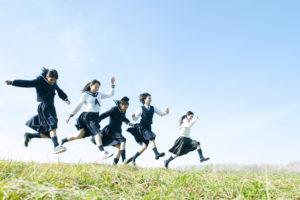 躍動する生徒たち